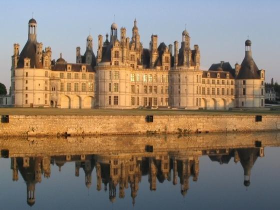 Région Centre proche des châteaux de la Loire